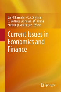 Cover Current Issues in Economics and Finance