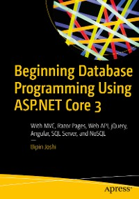 Cover Beginning Database Programming Using ASP.NET Core 3