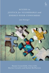 Cover Access to Justice for Vulnerable and Energy-Poor Consumers
