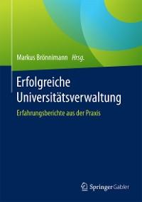 Cover Erfolgreiche Universitätsverwaltung