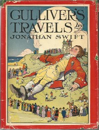 Cover Gulliver's travels into several remote nations of the World