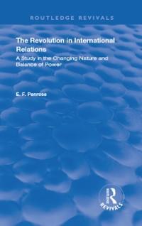Cover Revolution in International Relations