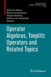 Cover Operator Algebras, Toeplitz Operators and Related Topics