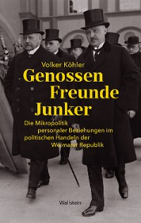 Cover Genossen - Freunde - Junker