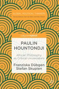 Cover Paulin Hountondji