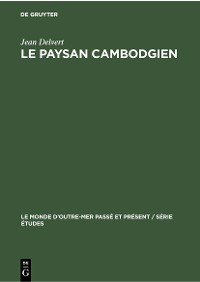 Cover Le paysan cambodgien