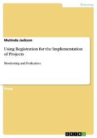 Cover Using Registration for the Implementation of Projects