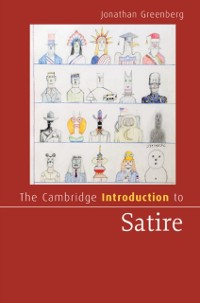 Cover Cambridge Introduction to Satire