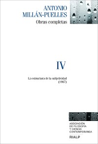 Cover Millán-Puelles. IV. Obras completas