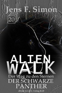 Cover Der Schwarze Panther (ALienWalk 20)