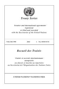 Cover Treaty Series 2950/Recueil des Traités 2950
