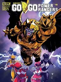 Cover Saban's Go Go Power Rangers, Issue 18