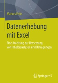 Cover Datenerhebung mit Excel