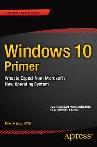 Cover Windows 10 Primer