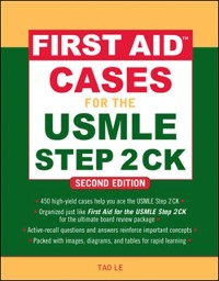 Cover First Aid Cases for the USMLE Step 2 CK, Second Edition