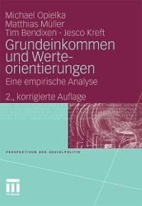 Cover Grundeinkommen und Werteorientierungen