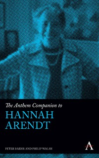 Cover The Anthem Companion to Hannah Arendt