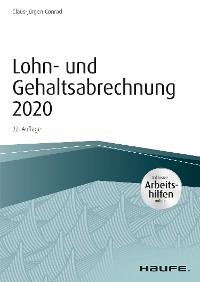 Cover Lohn- und Gehaltsabrechnung 2020 - inkl. Arbeitshilfen online
