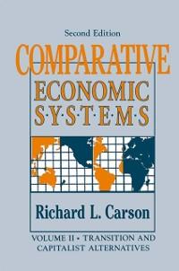 Cover Comparative Economic Systems: v. 2