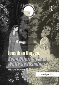 Cover Jonathan Harvey: Song Offerings and White as Jasmine