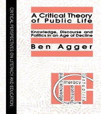 Cover Critical Theory Of Public Life