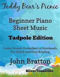 Cover Teddy Bear's Picnic Beginner Piano Sheet Music Tadpole Edition