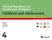 Cover Clinical Handbook of Psychotropic Drugs for Children and Adolescents