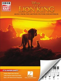 Cover The Lion King, Super Easy Piano Songbook