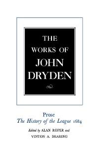 Cover The Works of John Dryden, Volume XVIII