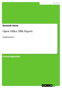 Cover Open Office XML Export