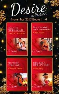 Cover Desire Collection: November Books 1 - 4 (Mills & Boon e-Book Collections)