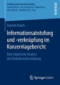 Cover Informationsabstufung und -verknüpfung im Konzernlagebericht