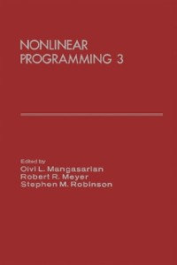 Cover Nonlinear Programming 3