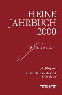 Cover Heine-Jahrbuch 2000