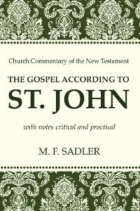 Cover The Gospel According to St. John