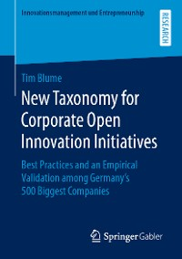 Cover New Taxonomy for Corporate Open Innovation Initiatives