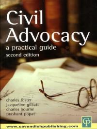 Cover Civil Advocacy