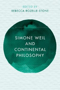 Cover Simone Weil and Continental Philosophy