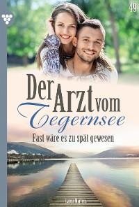 Cover Der Arzt vom Tegernsee 49 – Arztroman