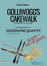 Cover Golliwogg's Cakewalk - Woodwind Quintet score & parts