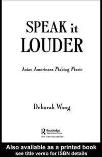 Cover Speak it Louder