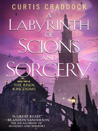 Cover A Labyrinth of Scions and Sorcery