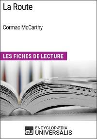 Cover La Route de Cormac McCarthy