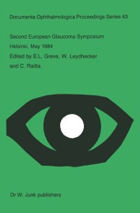 Cover Second European Glaucoma Symposium, Helsinki, May 1984