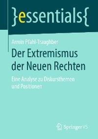 Cover Der Extremismus der Neuen Rechten