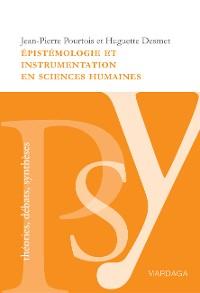 Cover Épistémologie et instrumentation en sciences humaines