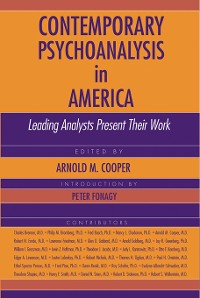 Cover Contemporary Psychoanalysis in America