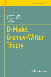 Cover B-Model Gromov-Witten Theory