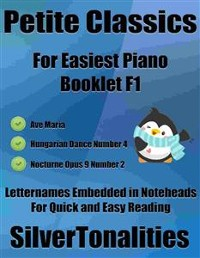 Cover Petite Classics for Easiest Piano Booklet F1