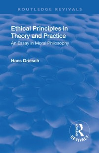 Cover Revival: Ethical Principles in Theory and Practice (1930)